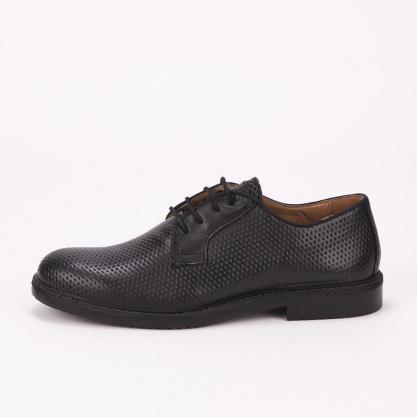 Μαύρα δετά παπούτσια IGI & CO