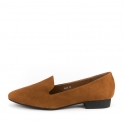 Suede basic loafers