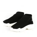 Μαύρα sneakers μποτάκια