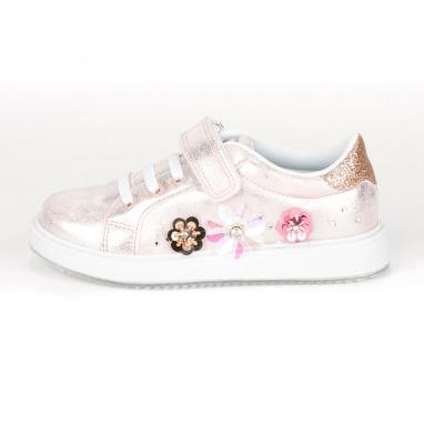 Παιδικά sneakers με λουλούδια