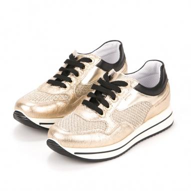 Δερμάτινα ανατομικά sneakers Igi & Co