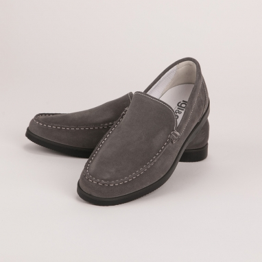 Γκρι σουέντ loafers IGI&CO