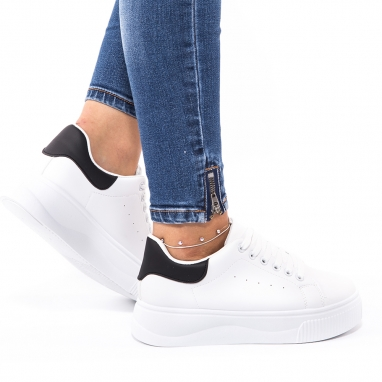 Λευκά δίσολα sneakers