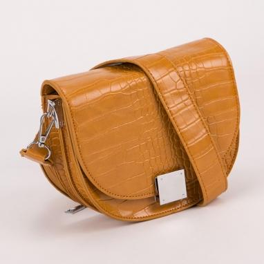 Οβάλ τσαντάκι ώμου με πορτοφολάκι