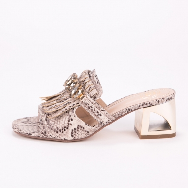 Mules Laura Biagiotti με snakeprint