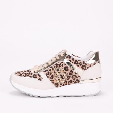 Sneakers Laura Biagioti με animal print