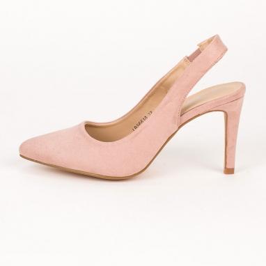 Open heel γόβες με λεπτό τακούνι