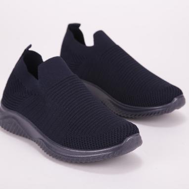 Μπλε knit sneakers