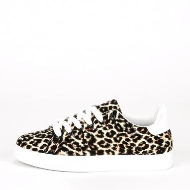 Sneakers λεοπάρ